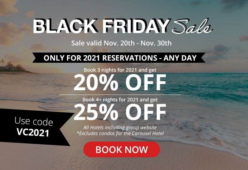 Only for 2021 Reservations | Sale valid Nov 20th - Nov 30th